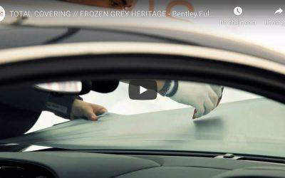 Oklejanie samochodu folią Frozen Grey Matt