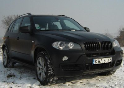 Zmiana koloru auta BMW X5