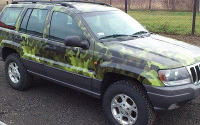 Oklejanie tuningowe Jeep Grand Cherokee