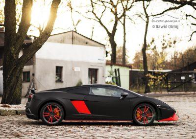Lamborghini Gallardo Czarny Mat