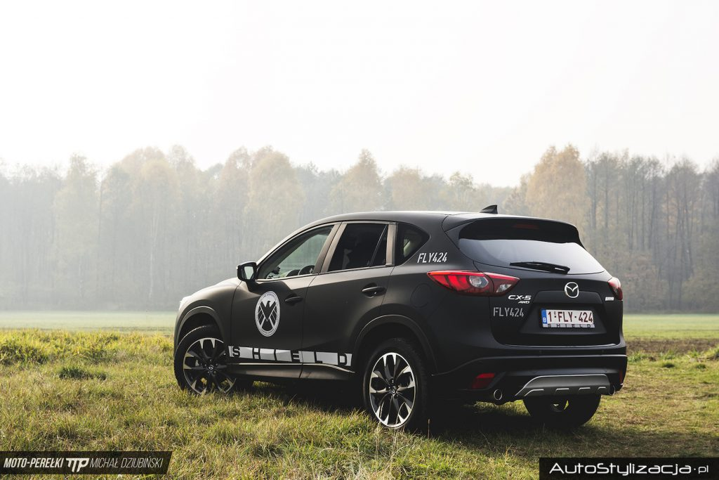 Ochrona Lakieru Auta Mazda CX5