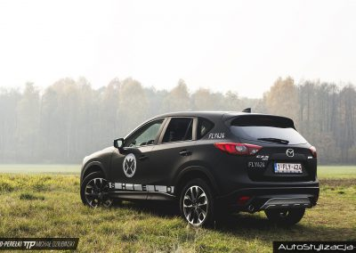 Wrapping Car – MAZDA CX-5 – Black Matte Shield