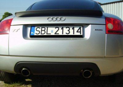 Oklejanie Audi TT Folią Czarny Mat