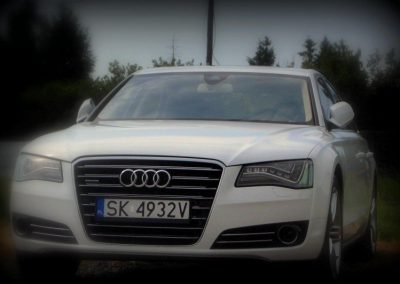Oklejanie auta Audi A8