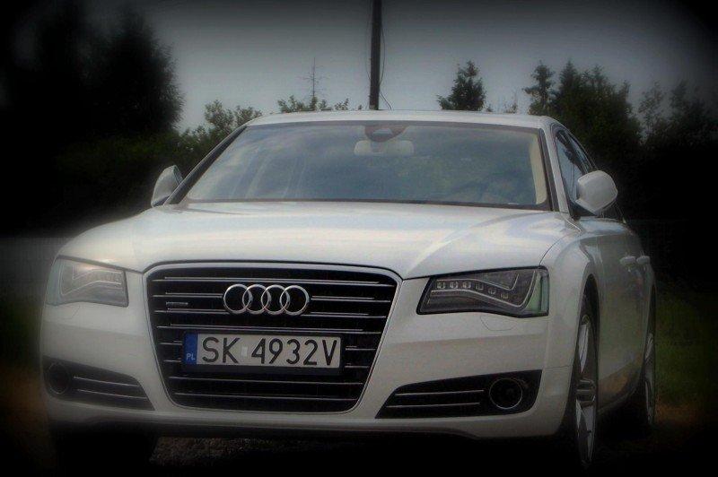 Oklejanie Folią Auta Audi A8