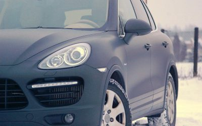 Oklejanie auta Porsche Cayenne