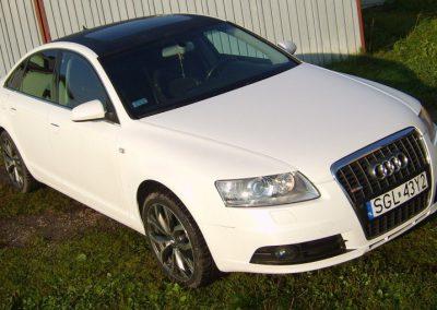 Oklejanie folią samochodu Audi A6