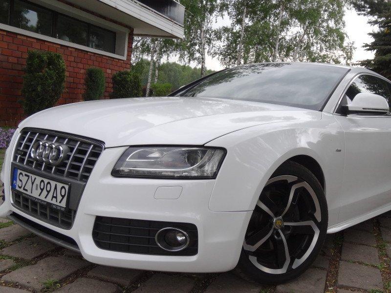 Profesjonalne Oklejanie Auta Audi A5