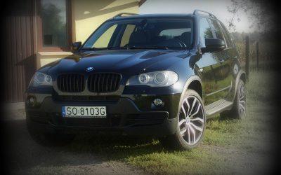Oklejanie samochodu BMW X5