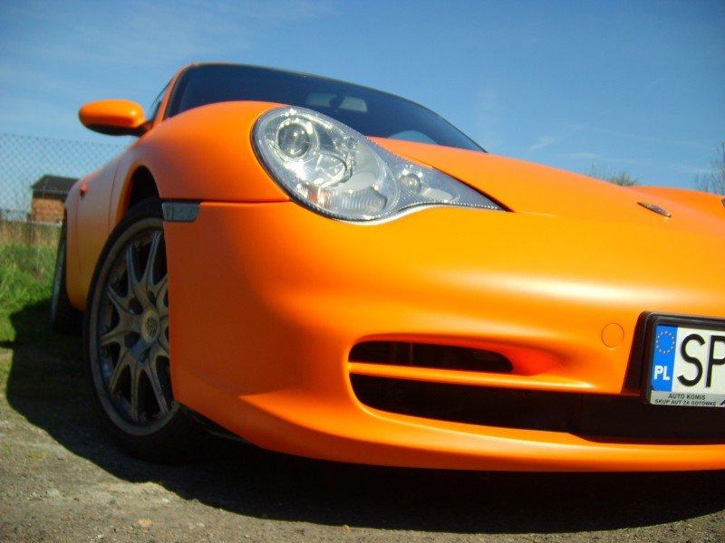 Oklejanie Samochodów Folią Porsche