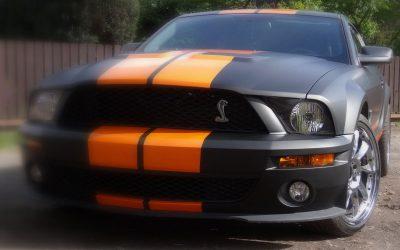 Oklejania Auta Mustang GT500 Folią