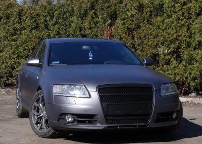 Oklejanie pojazdu Audi A6