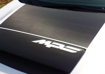 Oklejenie auta Mazda 3 MPS