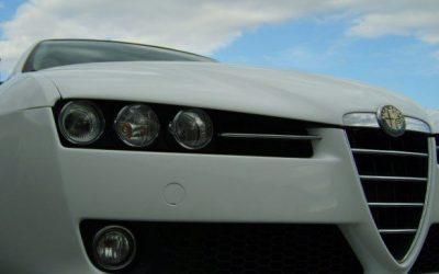 Oklejenie samochodu Alfa Romeo 159