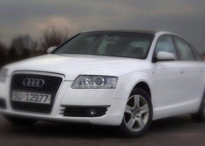 Oklejenie samochodu Audi A6