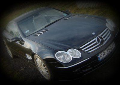 Oklejenie samochodu Mercedes SL
