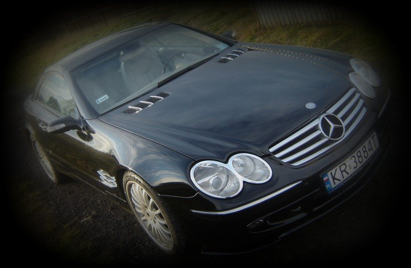 Oklejanie Karoserii Auta Mercedes SL
