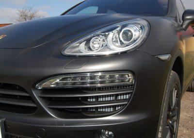 Oklejenie samochodu Porsche Cayenne