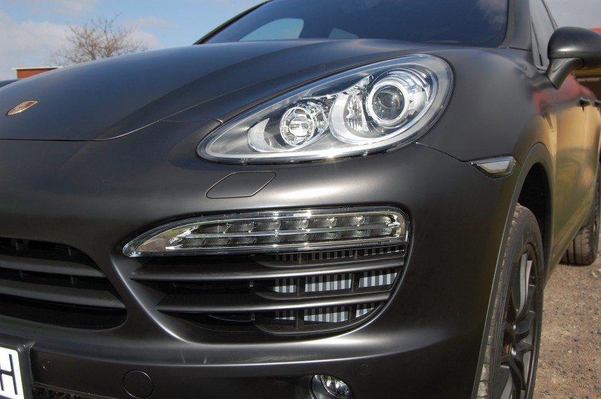 Oklejanie Samochodu Porsche Cayenne