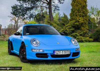 Porsche 911 Riviera Blue Mat