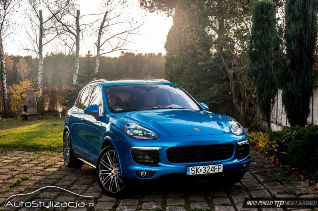 Zmiana Koloru Pojazdu Porsche Cayenne