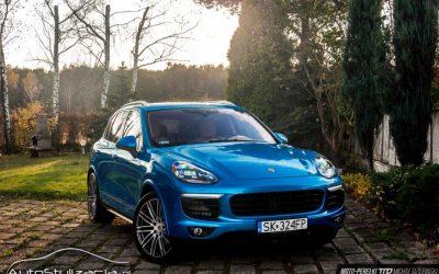 Zmiana Koloru Auta Porsche Cayenne
