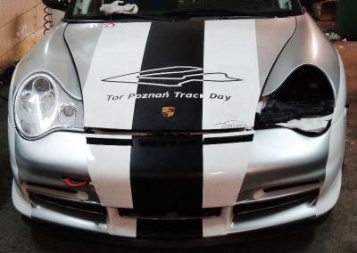 Oklejanie folią Porsche GT3