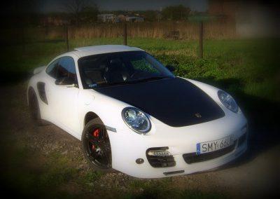 Stylizacja Porsche 911 Folią 3M