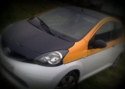 Stylizacja samochodu Toyota Aygo