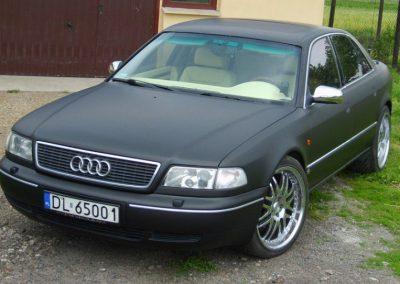 Zmiana koloru Audi A8