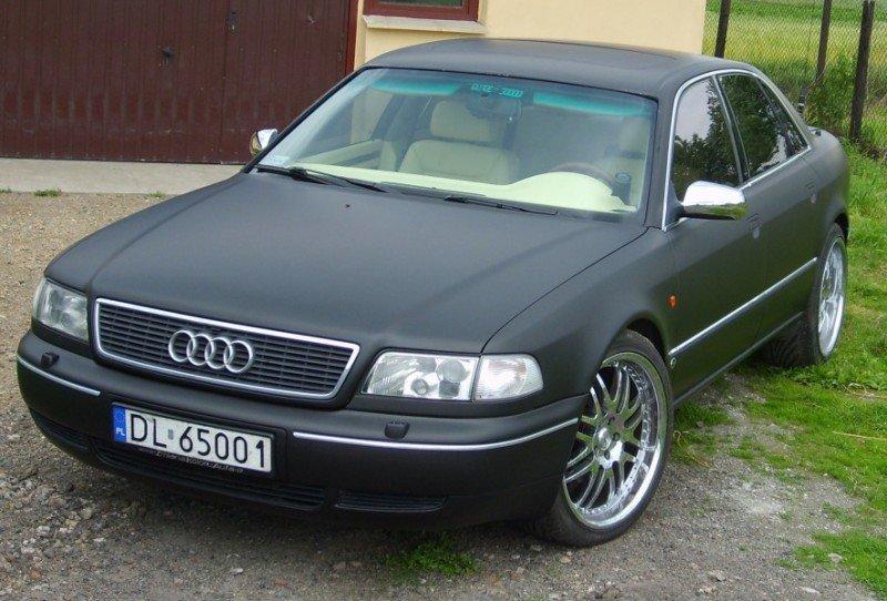 Zmiana Koloru Aut Audi