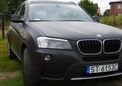 Oklejanie Folią BMW X3