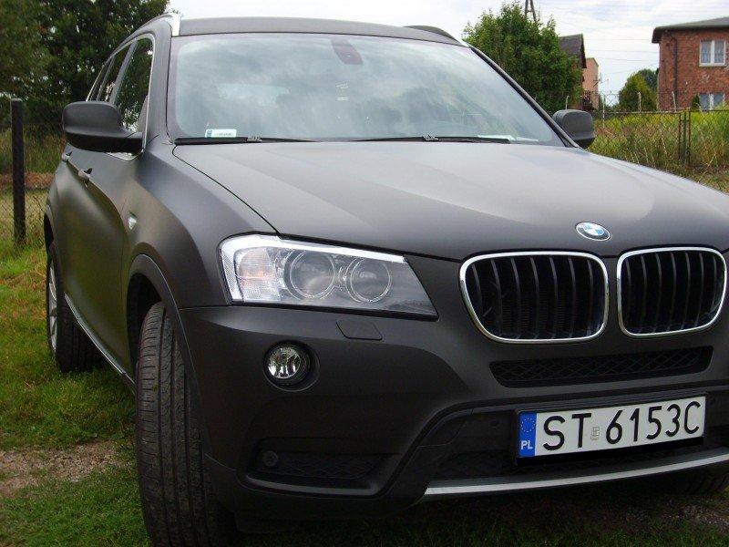 Zmiana Koloru Samochodu BMW X3