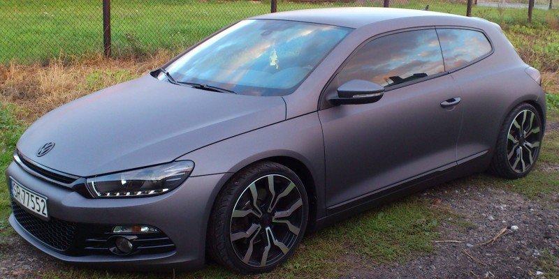 Zmiana Koloru Auta Volkswagen