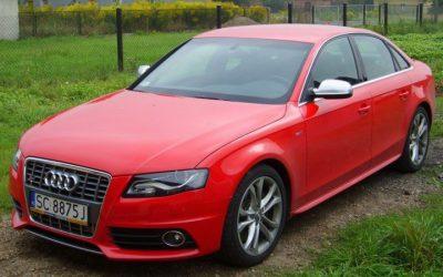 Zmiana koloru auta Audi S4