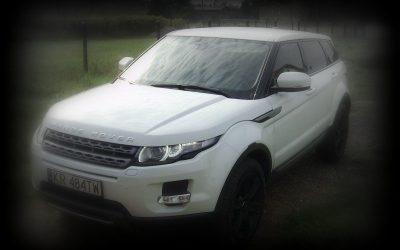 Oklejanie Auta Range Rover