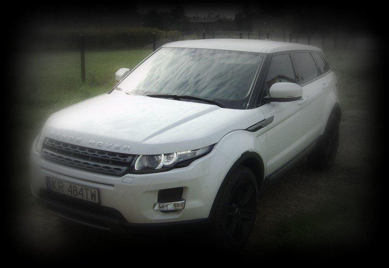 Zmiana Koloru Dachu Samochodu Range Rover