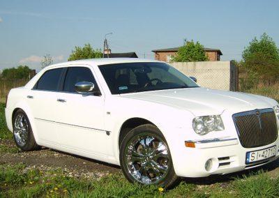 Oklejanie Folią Biały Połysk Chrysler