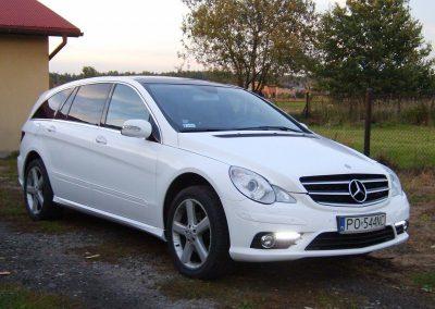 Zmiana koloru samochodu Mercedes R