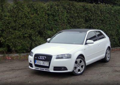 Audi A3 Folia Czarny Karbon