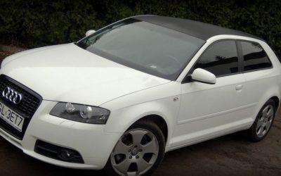 Zmiana koloru dachu w Audi A3