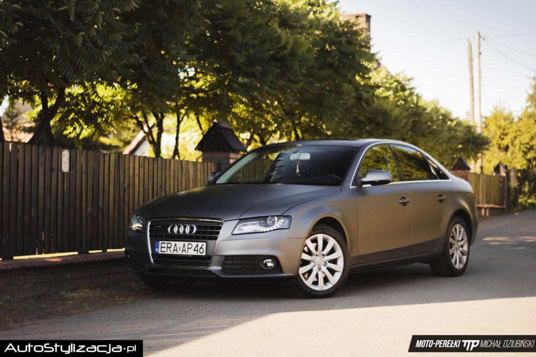 Oklejanie Folią Auta Audi A4