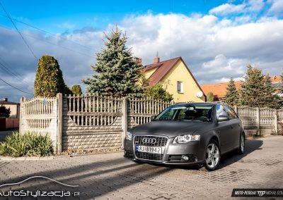 Audi A4 Szary Mat Metalik
