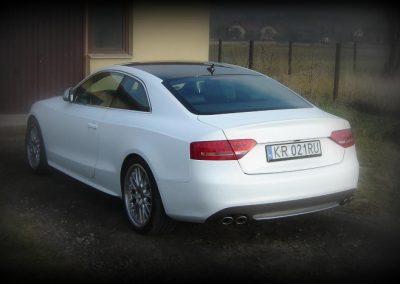 Oklejanie Audi A5 Biały Mat
