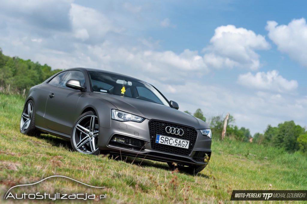 Oklejanie Samochodu Audi A5