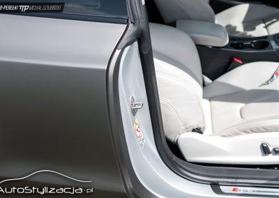 Audi A5 Matte Charcoal