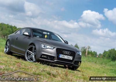 Folia Matte Charcoal na Audi A5