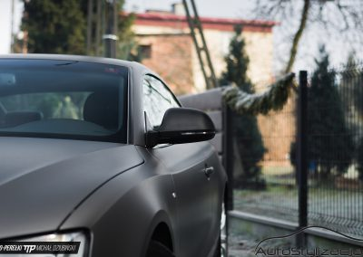 Audi A5 Matte Charcoal Metallic