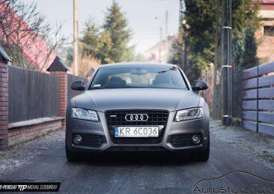 Nakładanie Folii Mat na Samochód Audi A5
