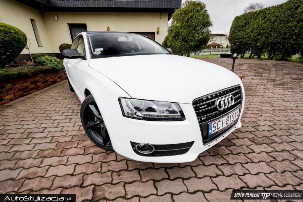 Wyklejanie Folią Auta Audi A5